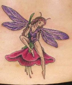 fairy-with-flower-tattoos