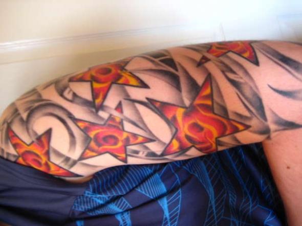 Star Tattoos Design » Blog Archive » hawaiian tropical flower tattoos