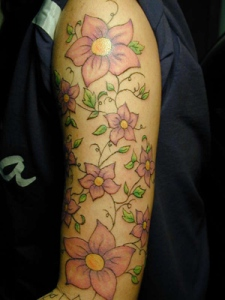 flower-arm-sleeve-tattoos