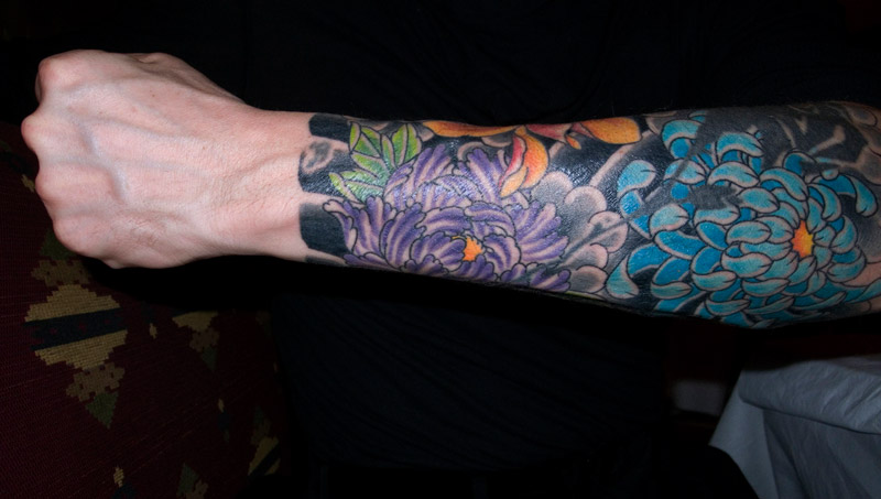 Sleeve tattoos, also called tattoo sleeve refer to body art done on the arms