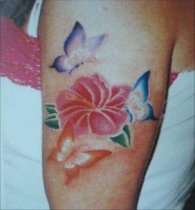 flower-butterfly-tattoos