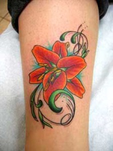 flower-lilly-tattoos