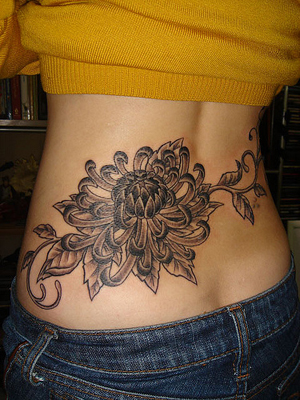flower tattoos that mean long life and longevity