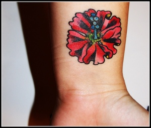 flower-wrist-tattoos