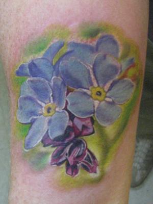 Forget Me Not Flower Tattoos Star Tattoos Design