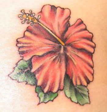 Arts. hawaiian flower tattoo designs … hawian flower tattoos. hibiscus