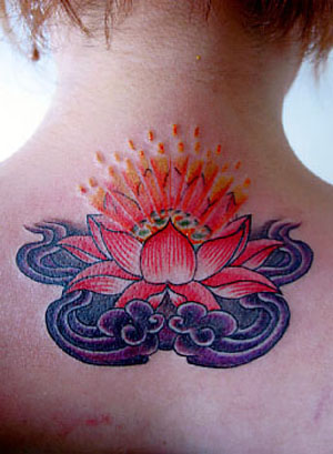 Japanese flower tattoos are adored by a global audience today.