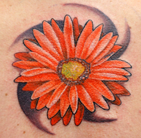 Daisy Tattoos – Daisy Flower & Foot Designs