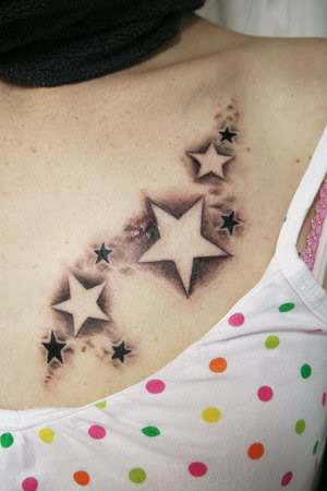 flash star tattoos