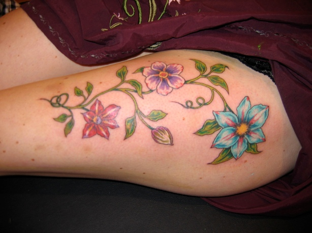 Looking for unique Flower tattoos | Star Tattoos Design Unique Flower Tattoos