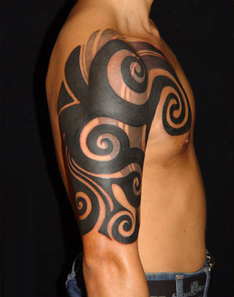 This is a collection of tribal tattoos.