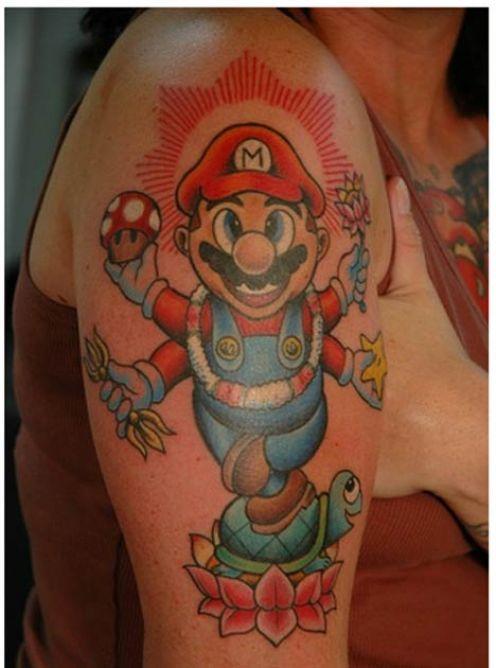 Super Mario Star Tattoos Star Tattoos Design